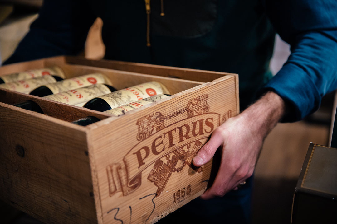 Wine payment and collection