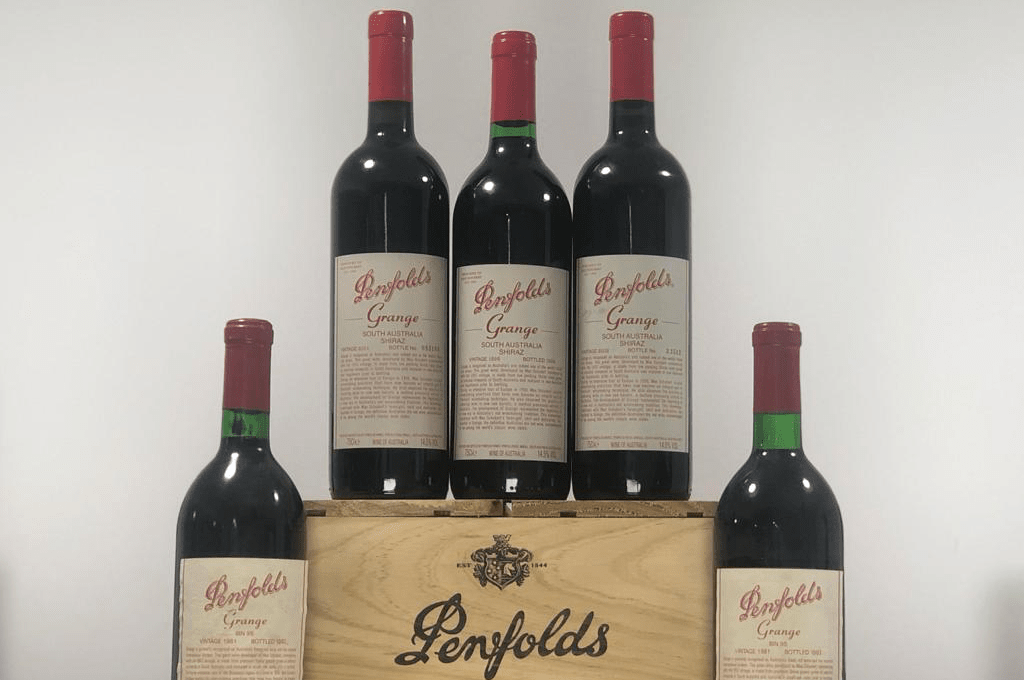 Penfolds Grange Wine Background Buying And Selling The London
